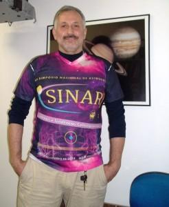 Nando Guimarães, vice-presidente do SINARJ e membro astrólogo da CNA