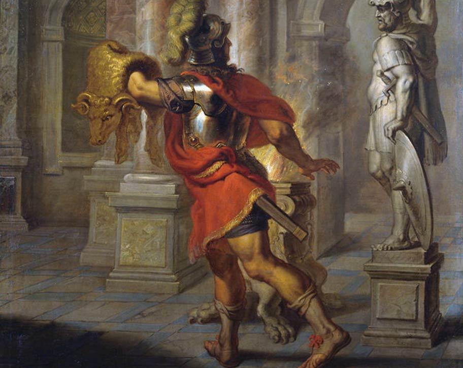 Jasão queria o trono de volta e não mediu coragem e esforço para consegui-lo. E o que é seu por direito?
